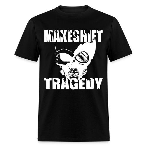 White Skull Logo - Men's T-Shirt