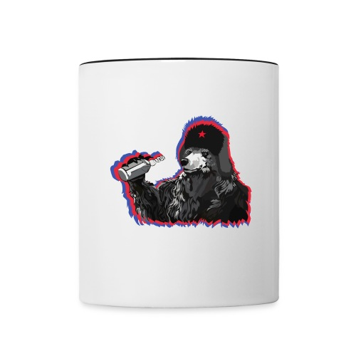 Vodka Bear - Contrast Coffee Mug