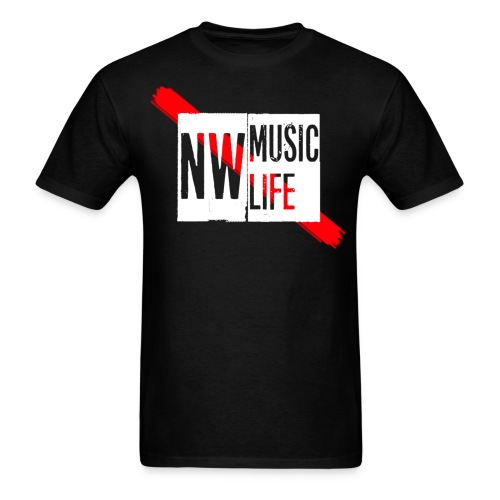 NW Music Life T-Shirt - Men's T-Shirt
