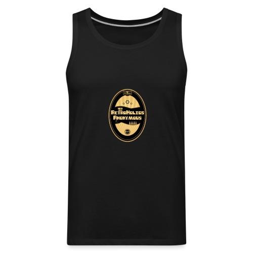 Retroholics Anonymous Mens Muscle Shirt - Black - Men's Premium Tank