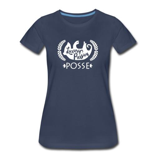 Luxury Possum Posse, Women's Navy - Women's Premium T-Shirt