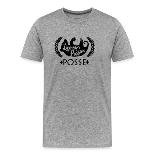 Luxury Possum Posse, Grey - Men's Premium T-Shirt