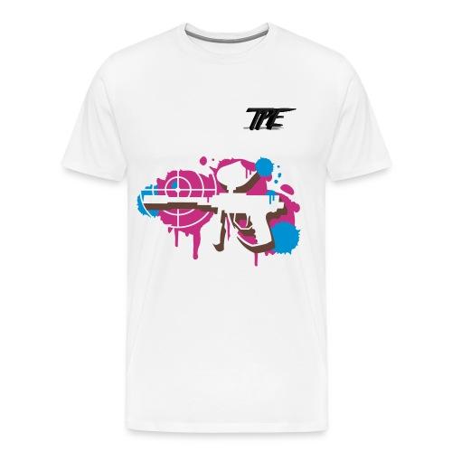 Frankie Maher's #TPE Graffiti Tee - Men's Premium T-Shirt