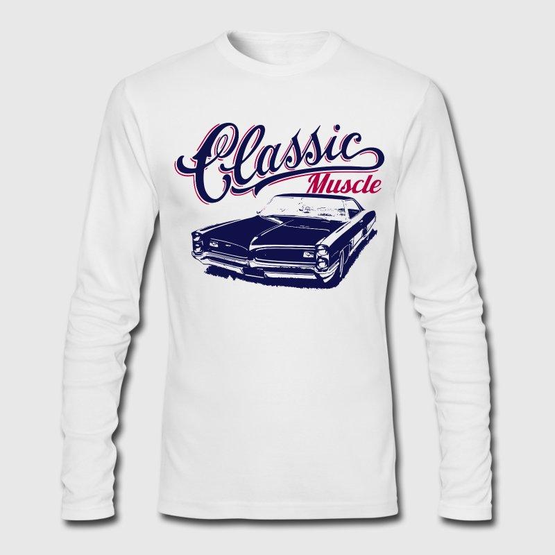 Muscle car design t shirt spreadshirt for Long sleeve t shirts design