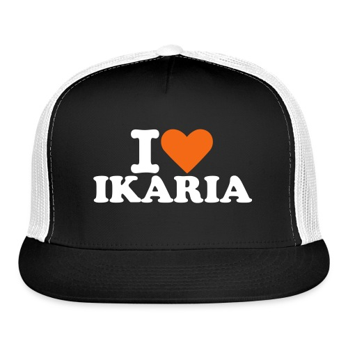 HAT I LOVE IKARIA - Trucker Cap