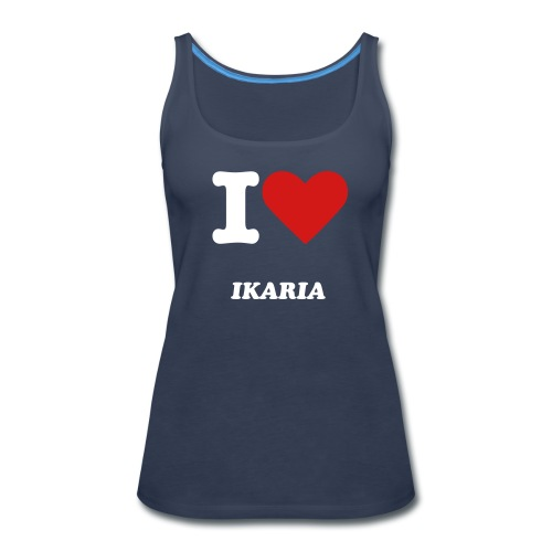 I LOVE IKARIA - Women's Premium Tank Top