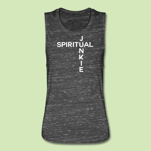 Spiritual Junkie - Women's Flowy Muscle Tank by Bella