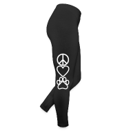 Bottoms ~ Leggings by American Apparel ~ Peace Love Paws
