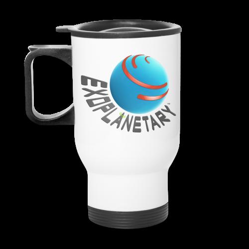Icy Comet White Exoplanetary Travel Mug - Travel Mug