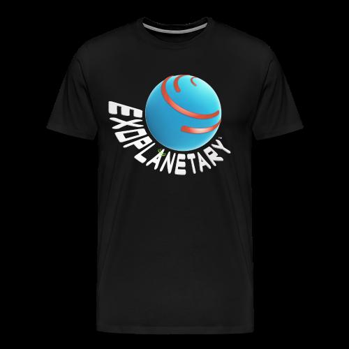 Men's Premium Dark Matter Black Exoplanetary Tee - Men's Premium T-Shirt