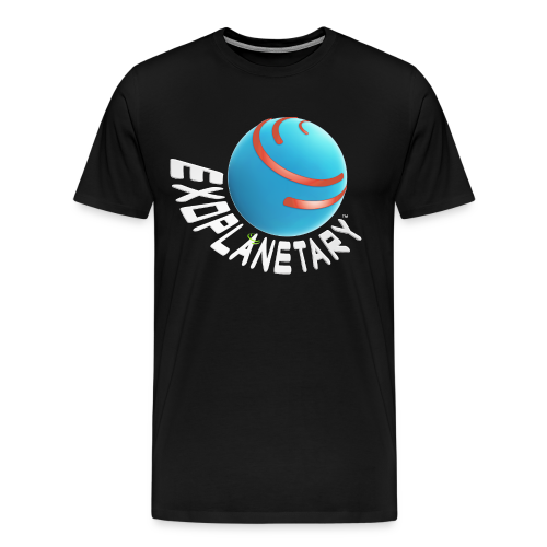 Men's Premium Dark Matter Black Exoplanetary Tee - Men's Premium T-Shirt