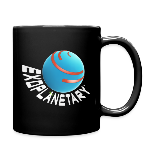 Deep Space Black Exoplanetary Mug - Full Color Mug