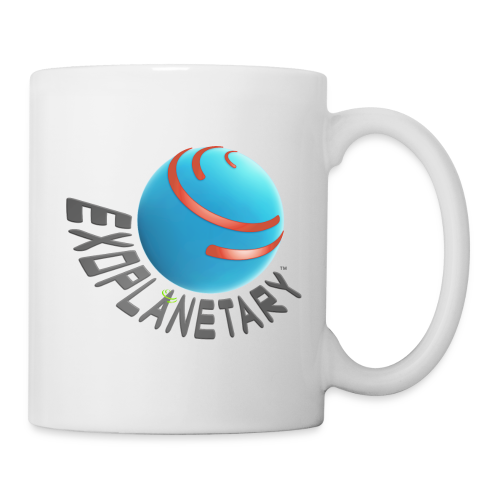 Milky Way White Exoplanetary Mug - Coffee/Tea Mug