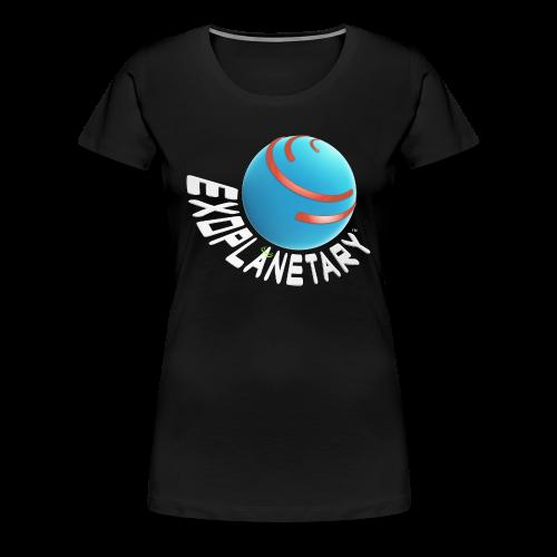 Women's Premium Dark Matter Black Exoplanetary Tee - Women's Premium T-Shirt