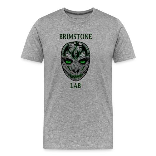 The Brimstone Lab Green - Men's Premium T-Shirt