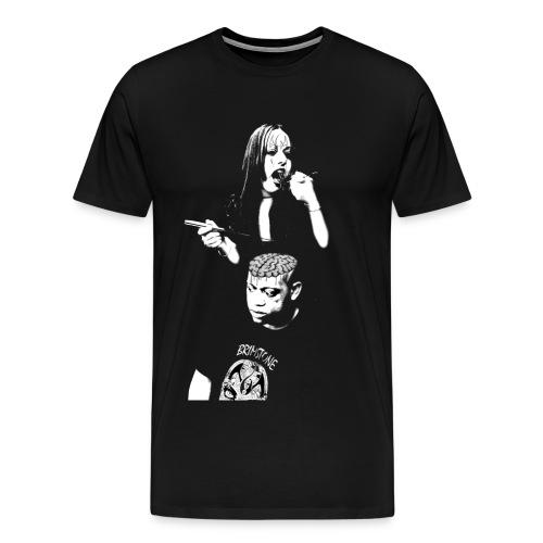 The Swing Dee Diablo Eat Brains Shirt - Men's Premium T-Shirt