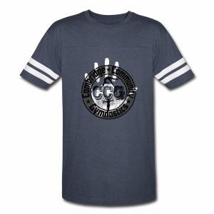 CCG Logo - Women's Ringer Sleeve - Vintage Sport T-Shirt