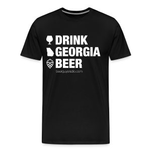 Drink Georgia Beer Tee - Men's Premium T-Shirt
