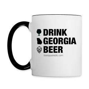 Drink Georgia Beer Mug - Contrast Coffee Mug