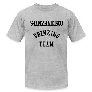 Shanzhaicisco Drinking Team™ - Men's Fine Jersey T-Shirt