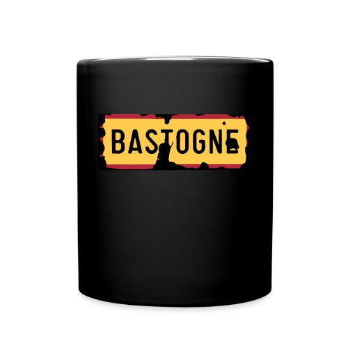 Bastogne Road Sign Mug - Full Color Mug