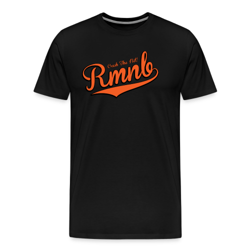 RMNB Alt Logo Black (3XL-Plus Sizes) - Men's Premium T-Shirt