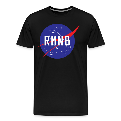 RMNB Space Logo (3XL- Plus Sizes) - Men's Premium T-Shirt