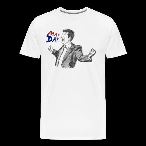 May Day (3XL- Plus Sizes) - Men's Premium T-Shirt