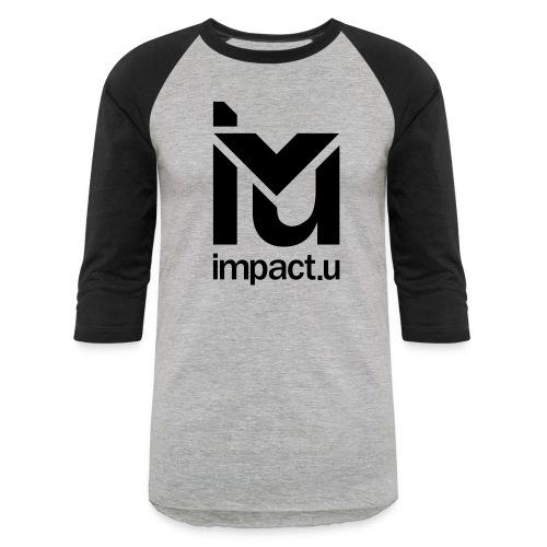 ImpactU Grey Baseball Tee  - Baseball T-Shirt