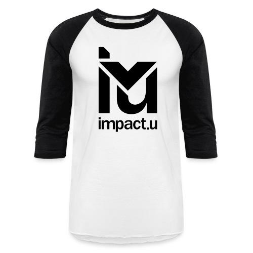 ImpactU White Baseball Tee - Baseball T-Shirt