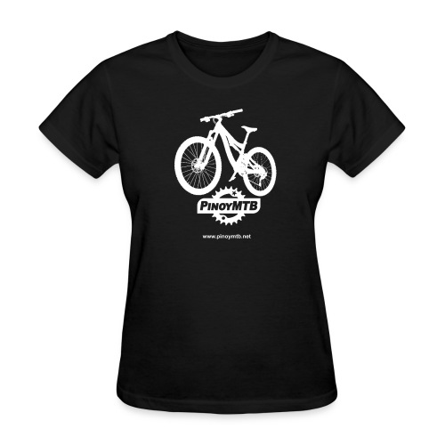 Pinoy MTB - Filipino Women's Mountain Bike T-Shirt - Women's T-Shirt