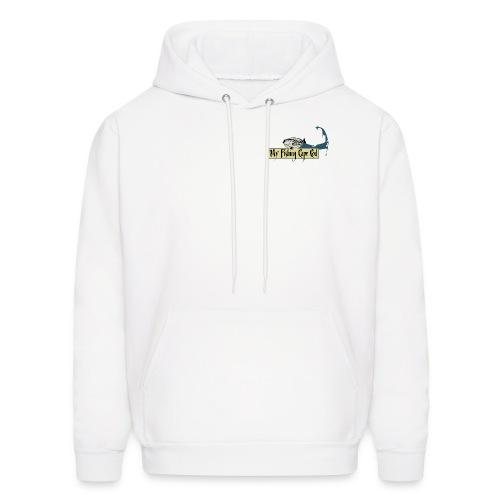 Men's Hoodie Sweatshirt -  White - Men's Hoodie