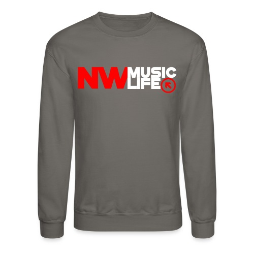 NW Music Life Logo Crew - Crewneck Sweatshirt