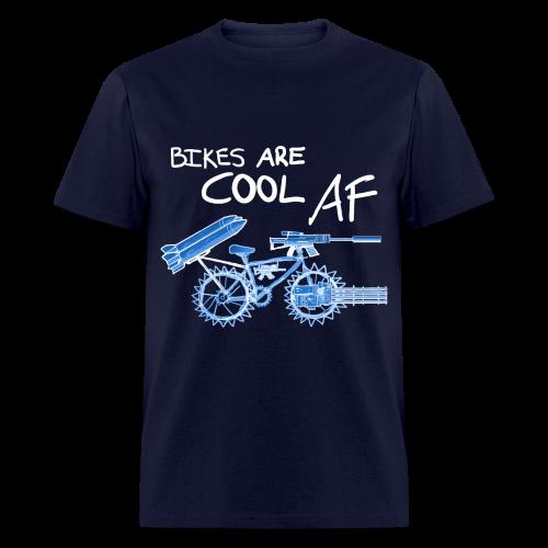 Bikes Are Cool AF (Light) - Men's T-Shirt