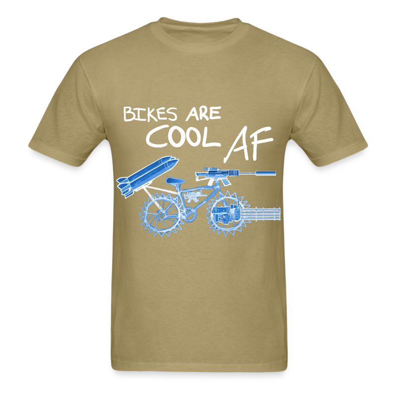 Bikes are COOL AF T-Shirt | MADDOX-STORE