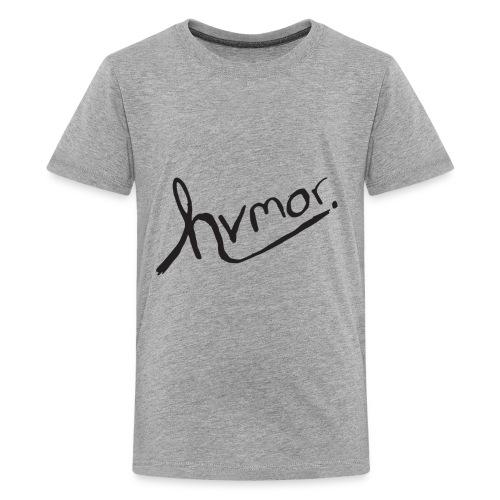 Youth Tee [Black] - Kids' Premium T-Shirt