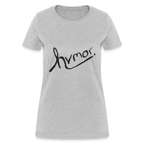 Women's Tee [Black] - Women's T-Shirt