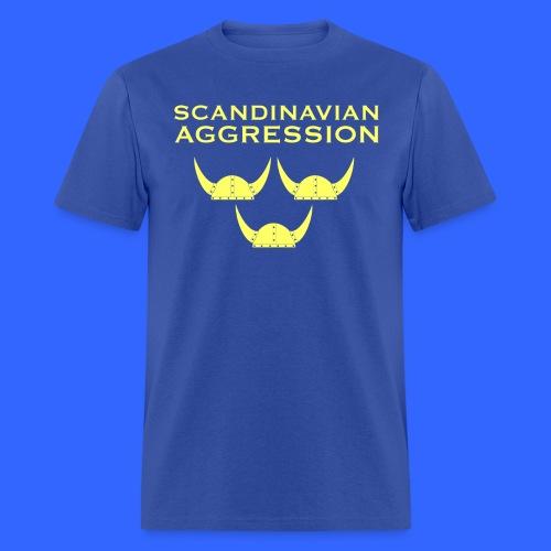 Scandinavian Aggression Standard Single-Sided T-Shirt - Men's T-Shirt
