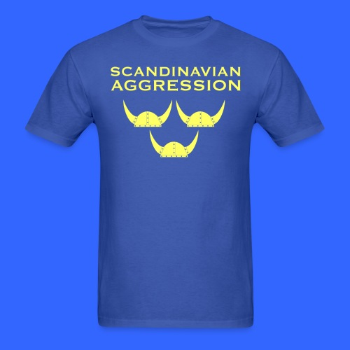 Scandinavian Aggression Standard Single-Sided T-Shirt - Men's T-Shirt