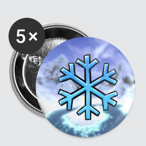 Signature Snowflake Button - Small Buttons