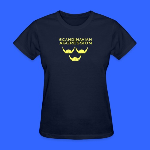Scandinavian Aggression Standard Single-Sided Women's T-Shirt - Women's T-Shirt