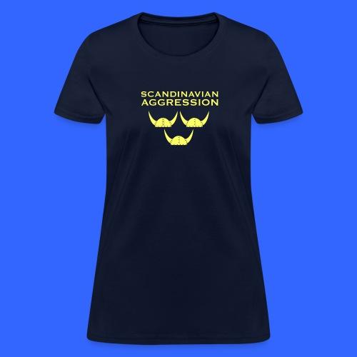 Scandinavian Aggression Standard Single-Sided Women's T-Shirt - Women's T-Shirt