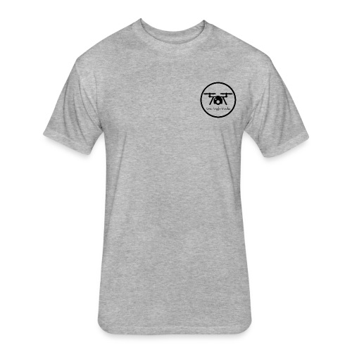 New Angle Media Operator Shirt  - Fitted Cotton/Poly T-Shirt by Next Level