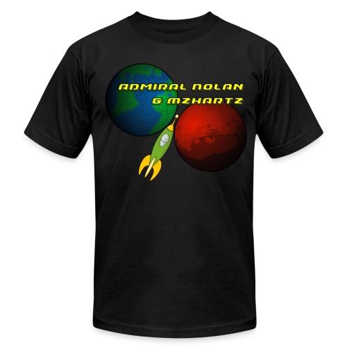 Stream Shirt Mens Black - Men's  Jersey T-Shirt