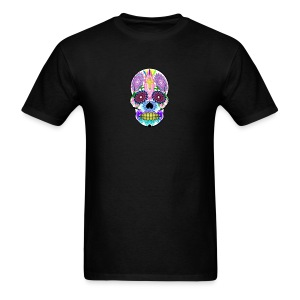 Skull Colorful - Men's T-Shirt