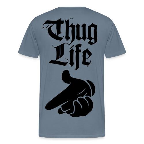 BWAH BWAH BWAH/THUG LIFE - Men's Premium T-Shirt
