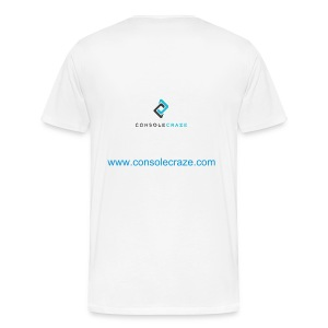 Console Craze Back Logo T-Shirt  - Men's Premium T-Shirt