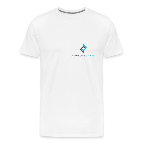 Console Craze Font Logo T-Shirt - Men's Premium T-Shirt