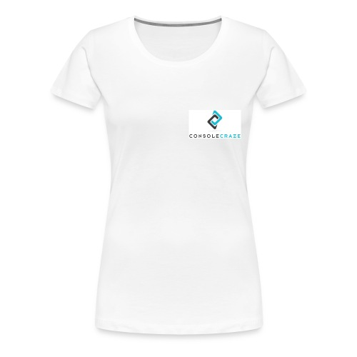 Console Craze Women's T-Shirt Front Logo - Women's Premium T-Shirt