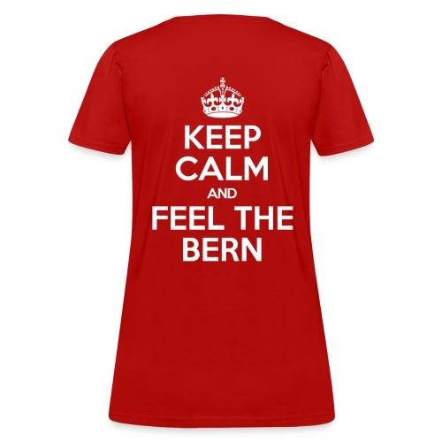 Keep Calm Bernie Women's T-Shirt - Women's T-Shirt